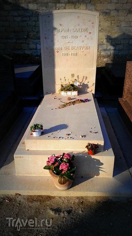 Париж. Сен-Северен, Пантеон, квартал Ботанического сада, кладбище Монпарнас / Франция