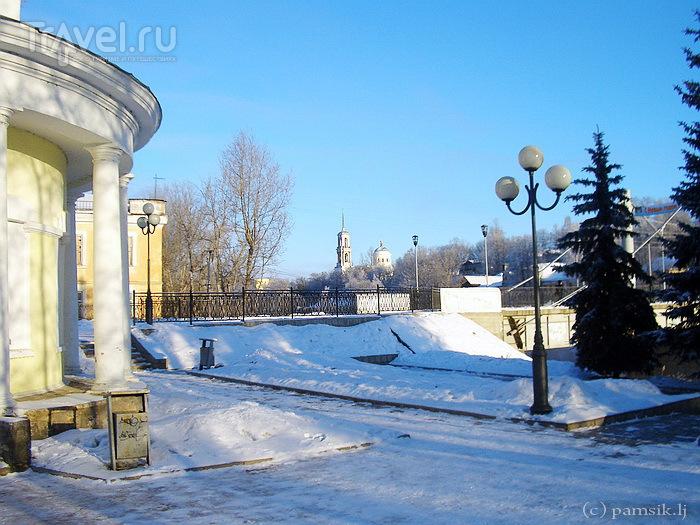 Прогулка по Торжку. Центр, Тверецкая набережная и Красная Гора / Россия