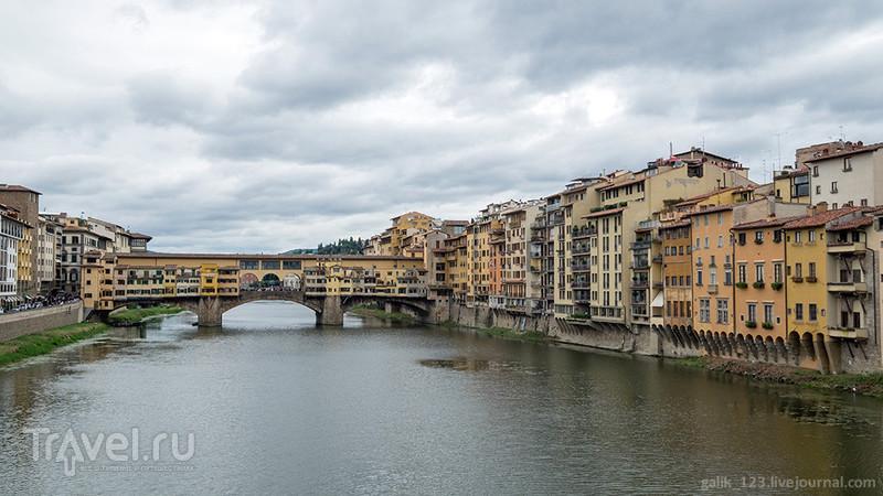 Бродим по Флоренции. Набережная Арно / Италия