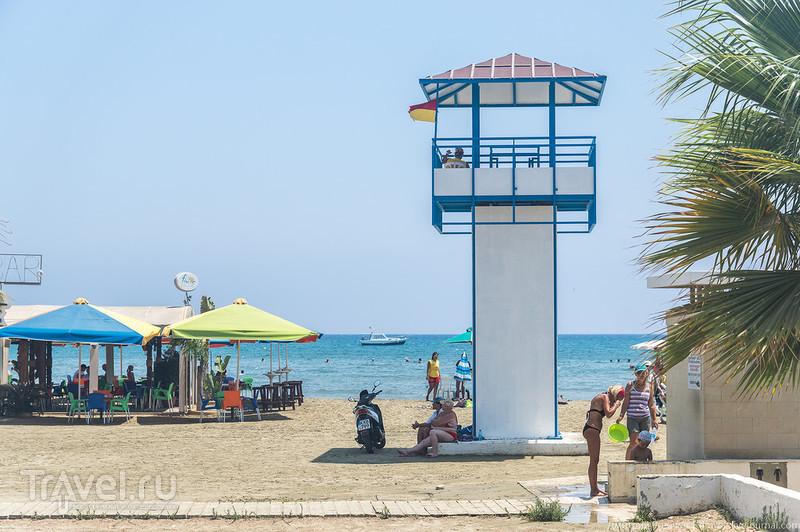 Кипр. Набережная Ларнаки / Фото с Кипра
