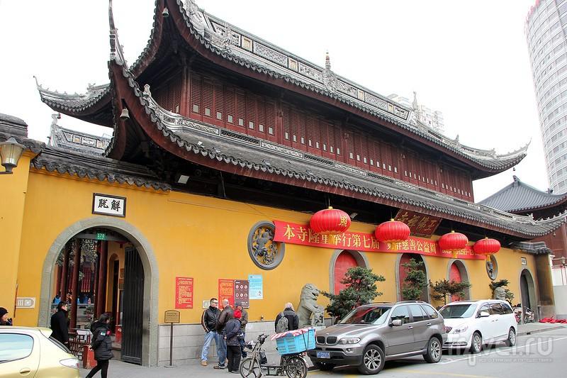 Шанхай. Буддийские храмы / Фото из Китая
