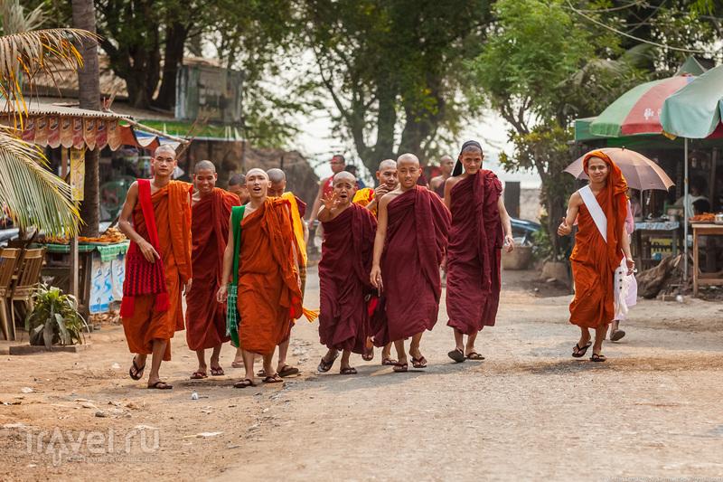 Бирма. Мост U Bein / Фото из Мьянмы