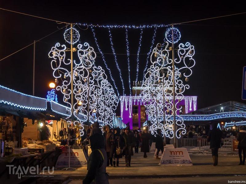 Новогодняя подсветка Питера / Фото из России