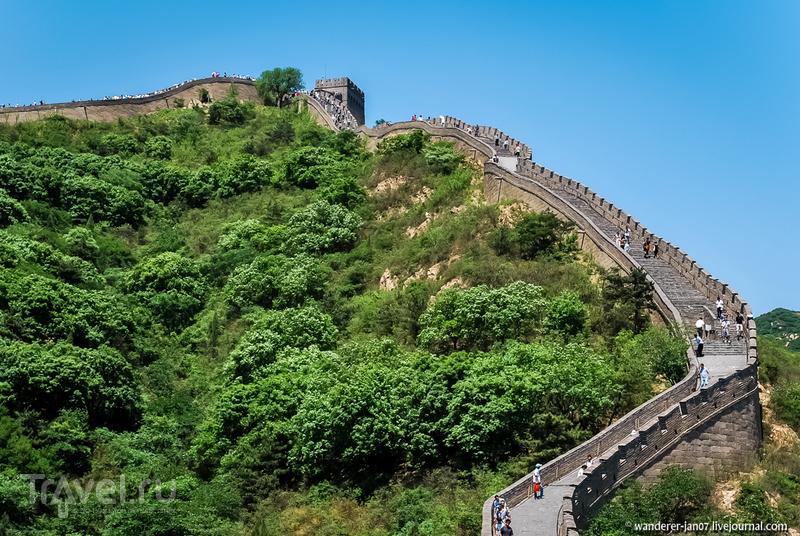 Великая Китайская стена. Участок Бадалин / Фото из Китая