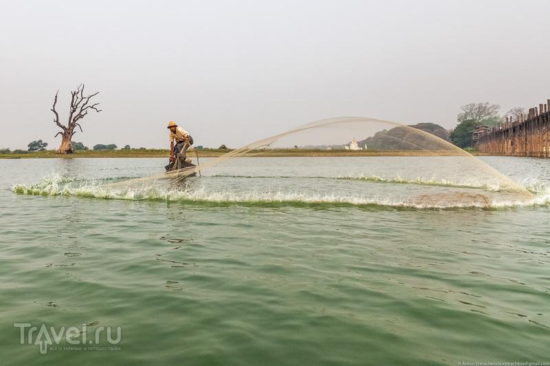 Бирма. Танец с сетью / Фото из Мьянмы