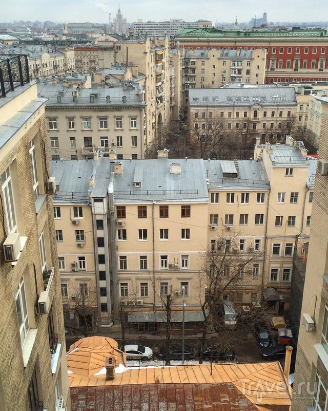 Первый московский небоскрёб 1912 года / Россия