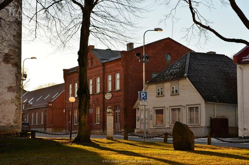 Зимний Раквере (Везенберг) / Эстония