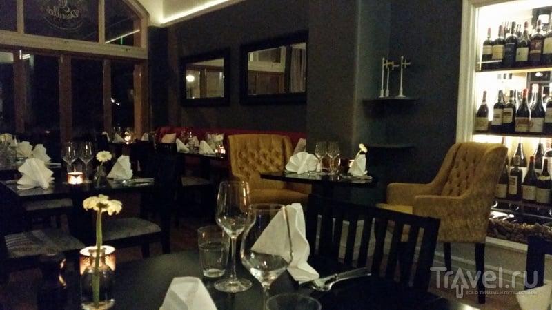 Интерьер ресторана Mat&Destillat