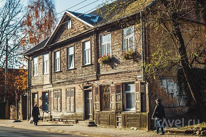 Там, где настоящая Рига: деревянный квартал Калнциема / Латвия