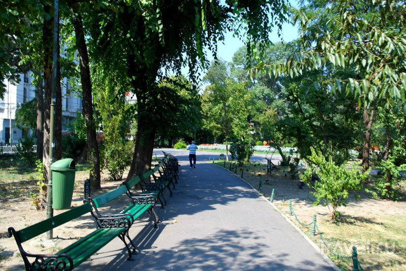 Бухарест - Парк Чишмиджиу / Румыния