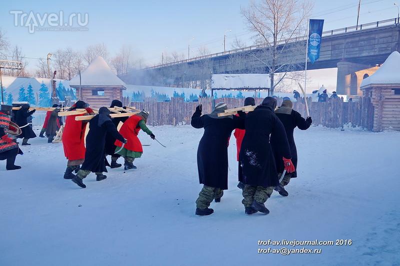 Оборона Медвежьей заставы, Беловодье-2016, Омск / Фото из России