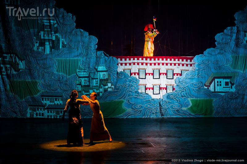 """""""Счастье в пути"""" или что посмотреть в тибетском драмтеатре / Фото из Китая"""