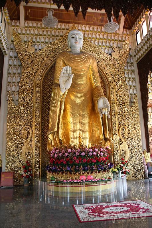 Малайзия. Остров Пинанг. Храм Wat Chaiya Mangkalaram / Фото из Малайзии