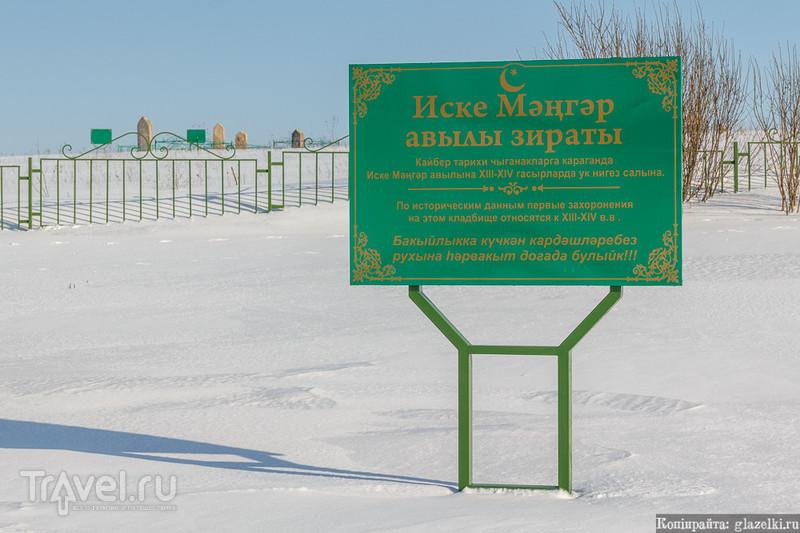 Кладбище деревни Старый Менгер / Фото из России