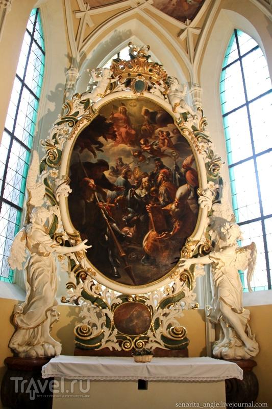 Собор вознесения Девы Марии и св. Иоанна Крестителя в Кутна Горе / Чехия