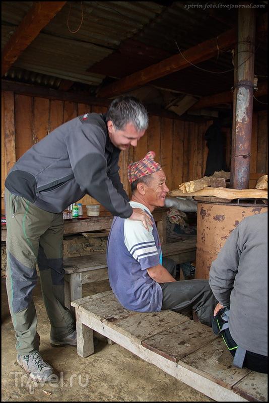 Непал - Копра и Марди Химал, после землетрясения / Фото из Непала