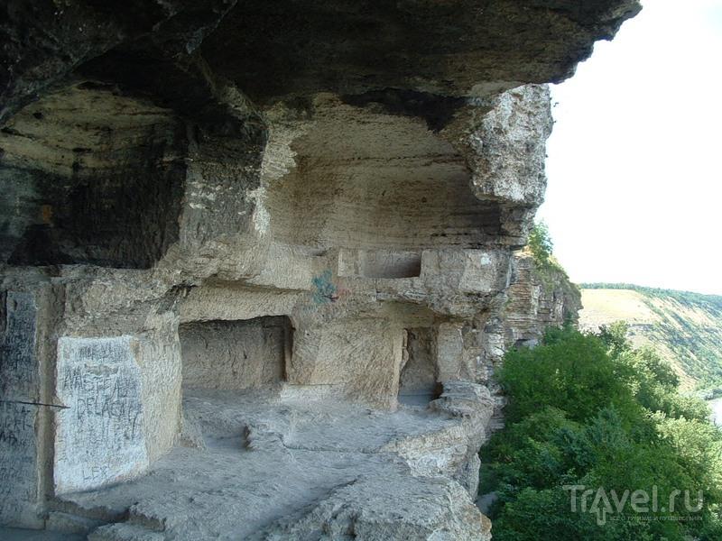 Скальный монастырь в Цыпово. Молдова / Фото из Молдавии