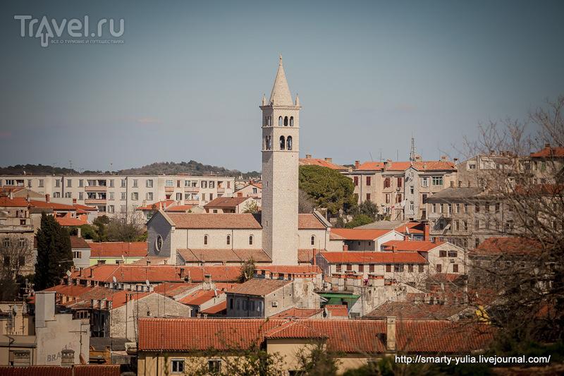 Хорватия: Лабин и Пула / Фото из Хорватии