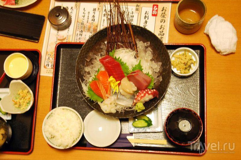 Суши в Японии / Япония