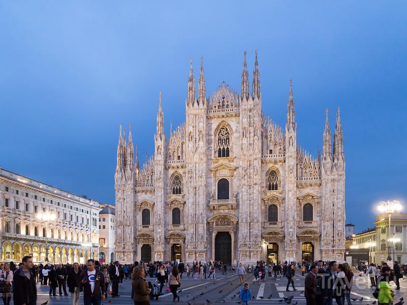 Вечерний Милан / Фото из Италии