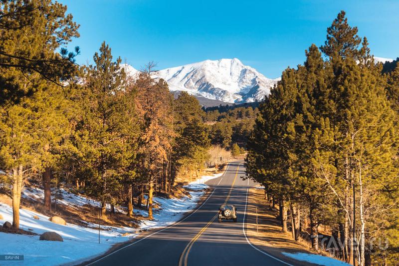Колорадо. Национальный парк Rocky Mountains / Фото из США