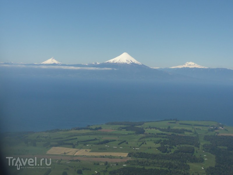 Чили через иллюминатор. Сантьяго - Пуэрто-Моннт / Чили
