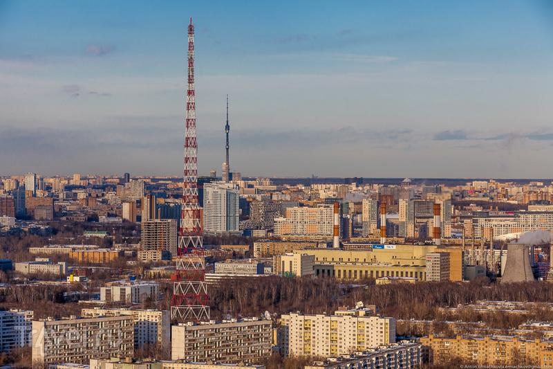 Городской пейзаж. Москва весенняя / Фото из России