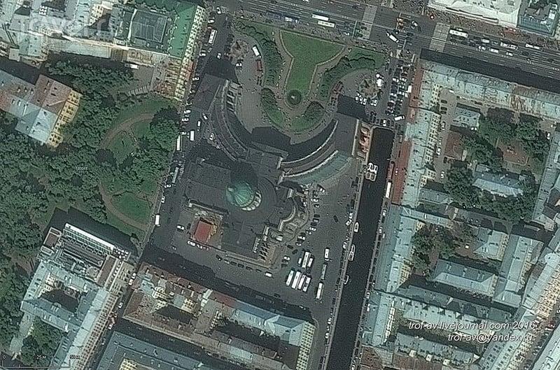 Казанский собор - внешнее и внутреннее убранство, Санкт-Петербург / Фото из России