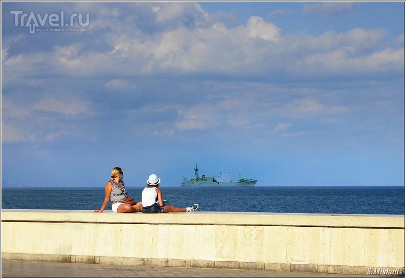 Алушта. Центральная набережная / Фото из России