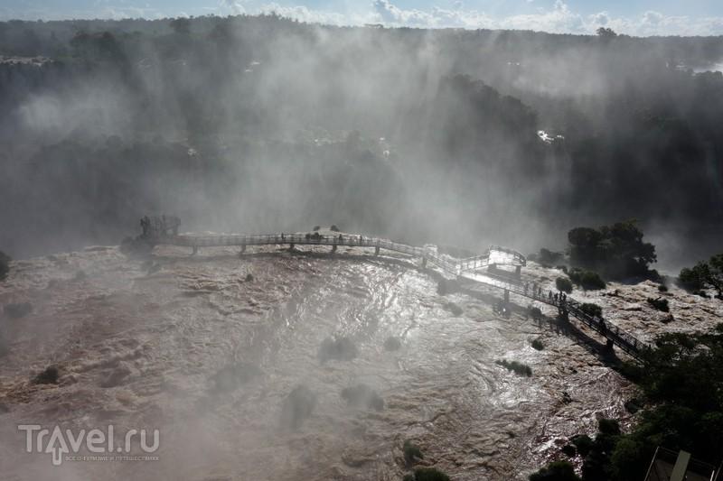 Водопады Игуасу. Бразильская сторона / Бразилия