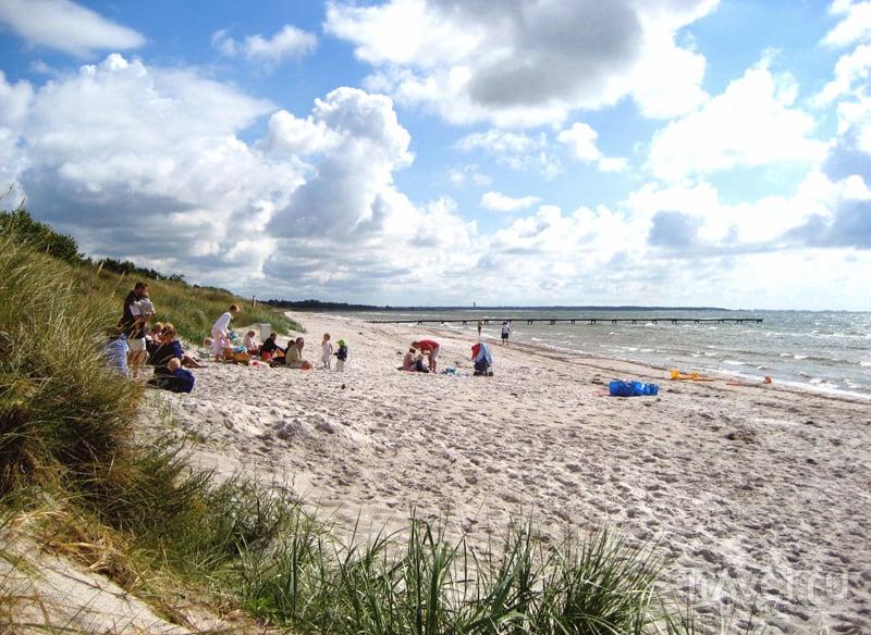 Песчаный пляж в Фальстербо