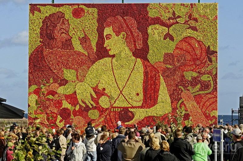 Яблочный фестиваль в Кивике