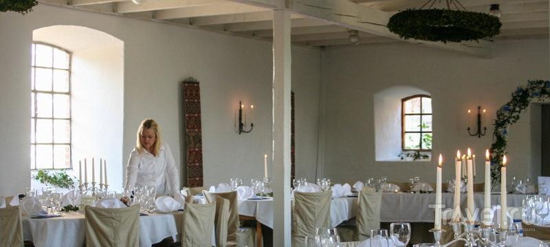 Ресторан в замке Бушёклостер