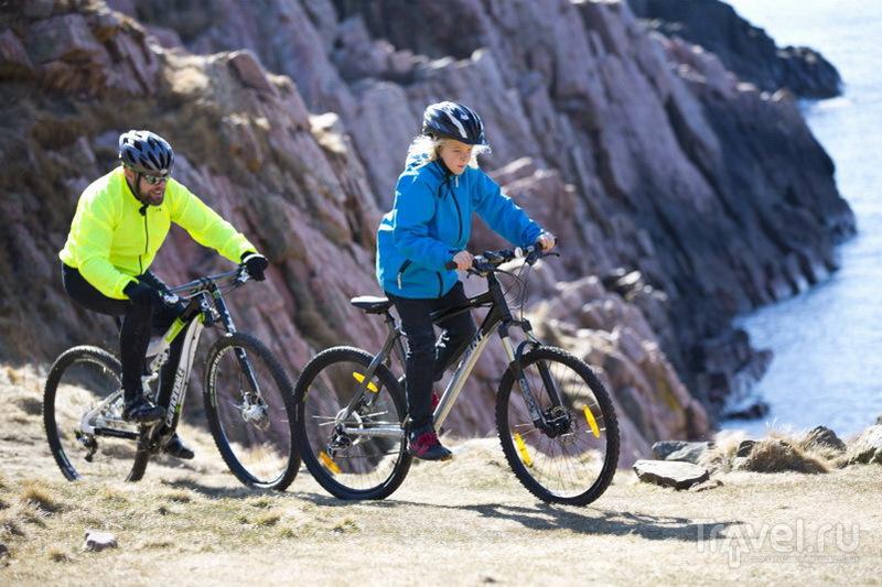 Велосипедные маршруты заповедника Куллаберг