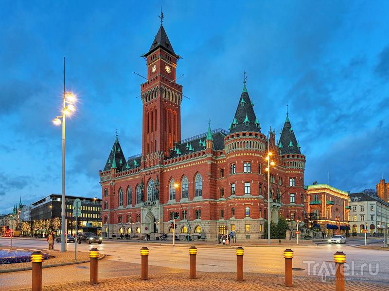 Здание городской ратуши Хельсинборга