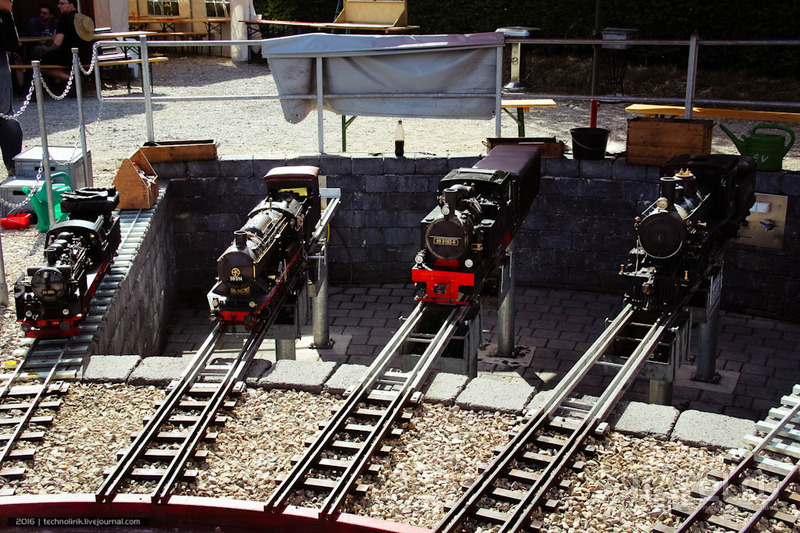 Gartenbahn - самая маленькая железная дорога в мире / Фото из Германии