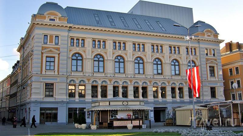 Театр в Риге / Латвия