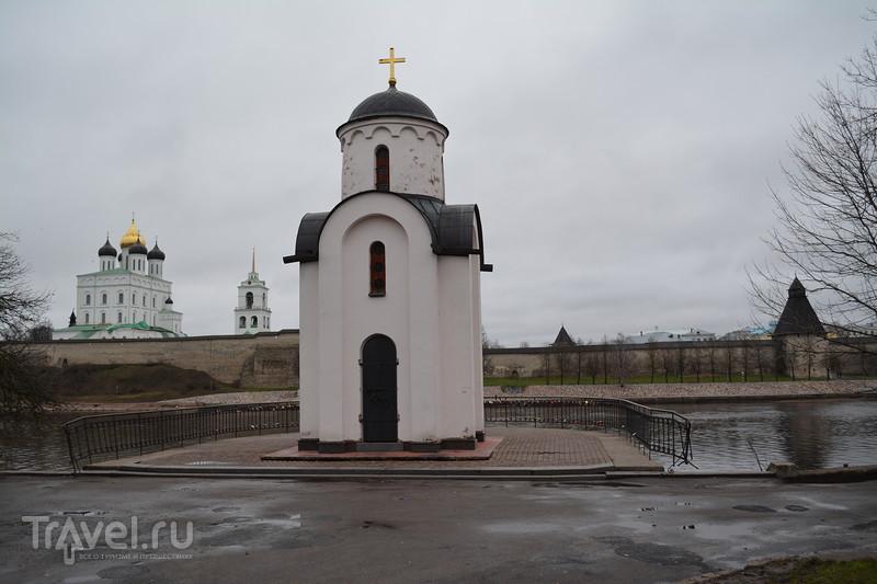 Псков. Район Завеличье / Россия