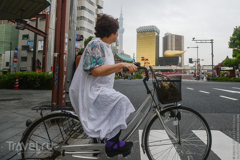 Токио - люди и город / Фото из Японии