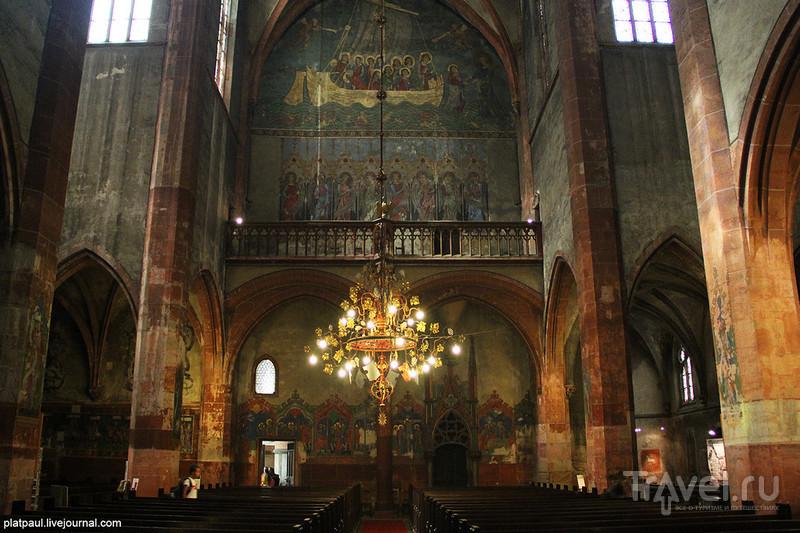 Страсбург. Церковь святого Петра Молодого / Франция