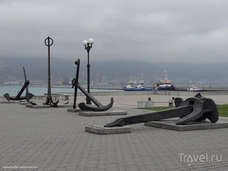 Форумная площадь на набережной Новороссийска / Россия
