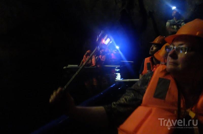 Самая длинная в мире подземная река Сент Пол / Фото с Филиппин