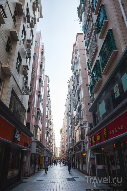Китай, Шэньчжэнь: улицы города / Китай