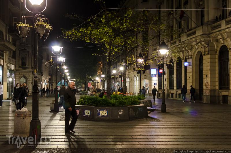 Балканы 2012. Вечерний Белград / Сербия