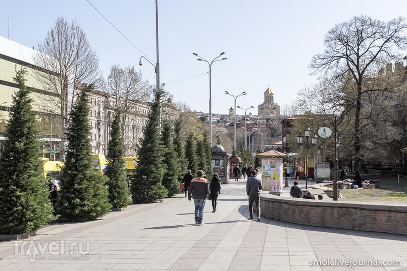 Первые дни в Тбилиси / Грузия