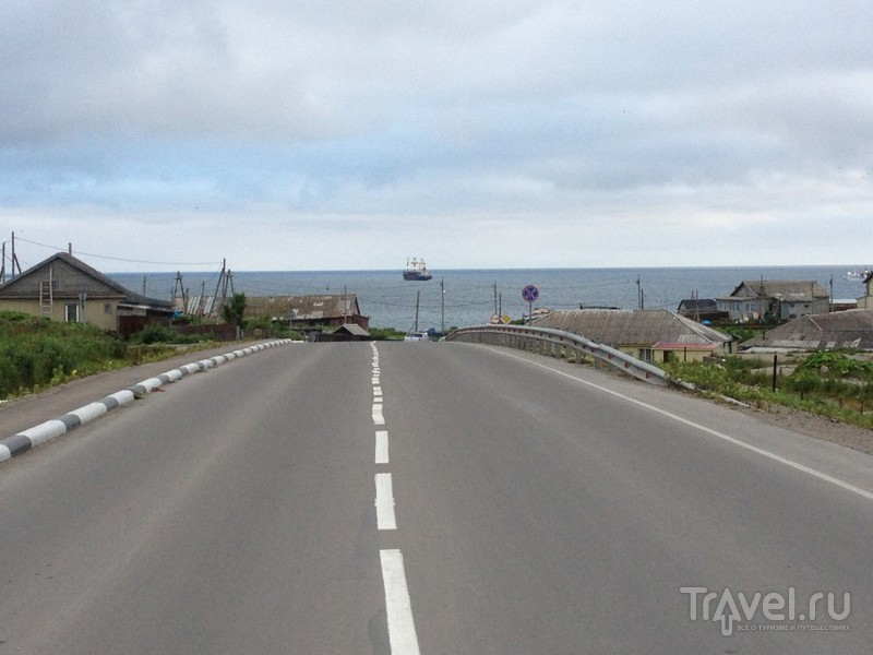 Плывём на Кунашир / Россия