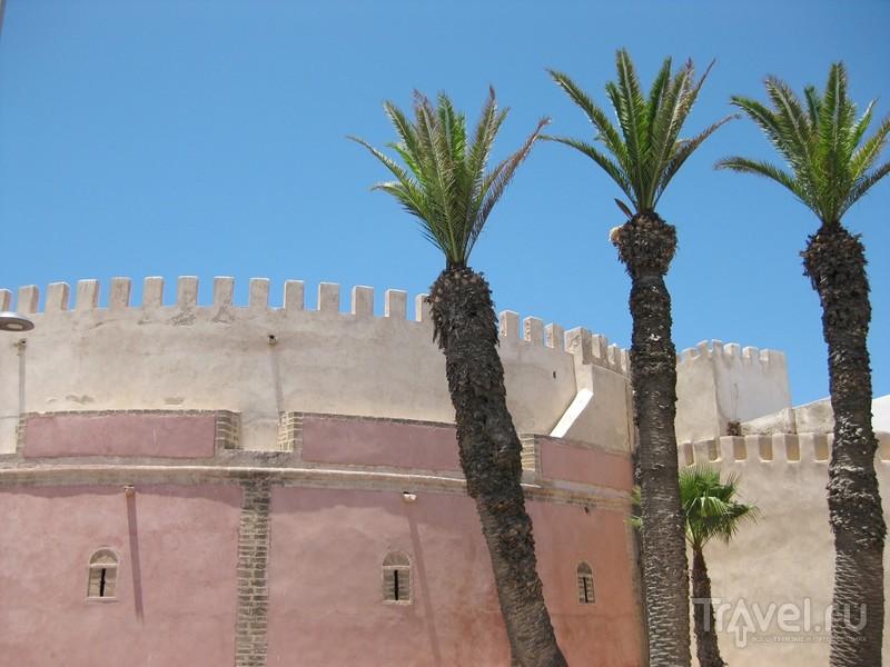 Невыносимо синее небо Эс-Сувейры / Марокко