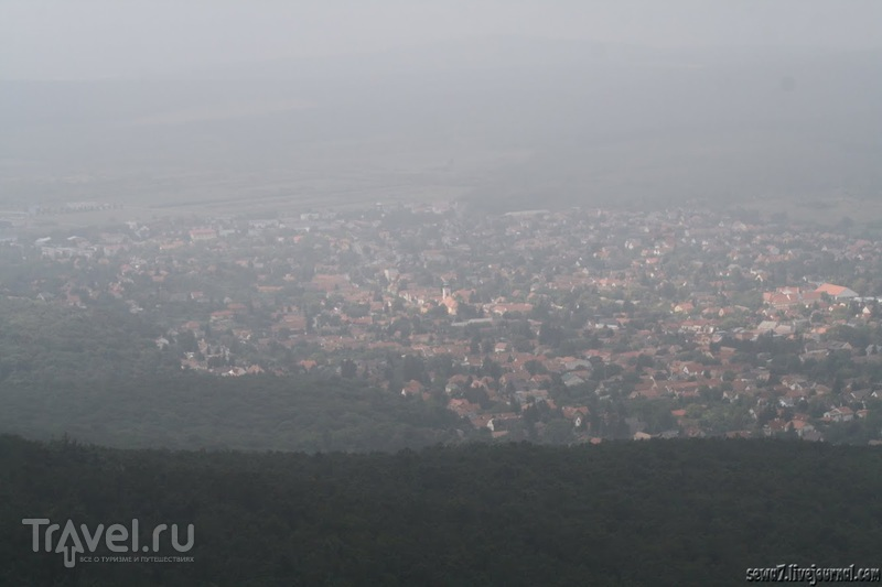 Прогулочный маршрут в будайских горах / Венгрия