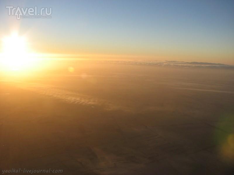 В стране антиподов. Воздухоплаватели. Плыли б внизу реки, поля бы... / Фото из Новой Зеландии