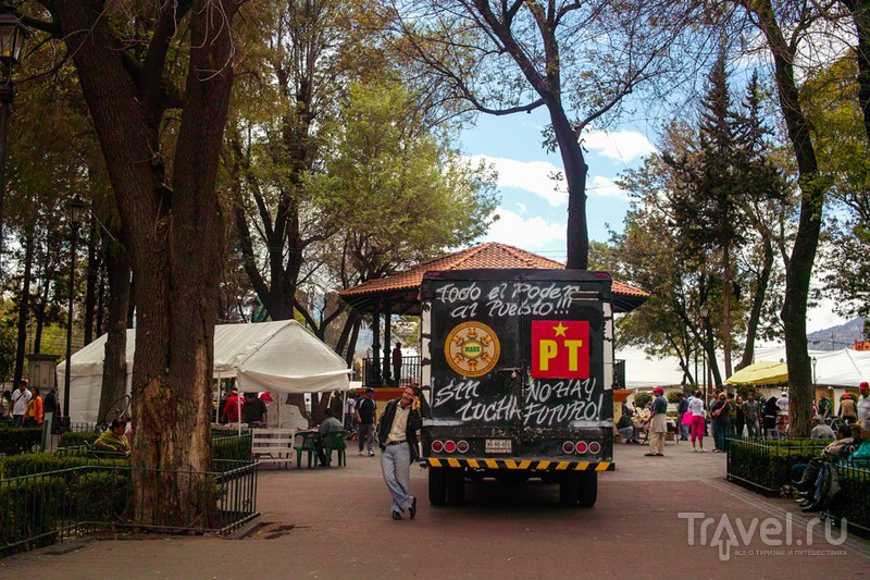 Xochimilco - мексиканская Венеция / Фото из Мексики
